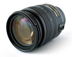 """This image shows a """"Nikon Nikkor 18-70 AF..."""