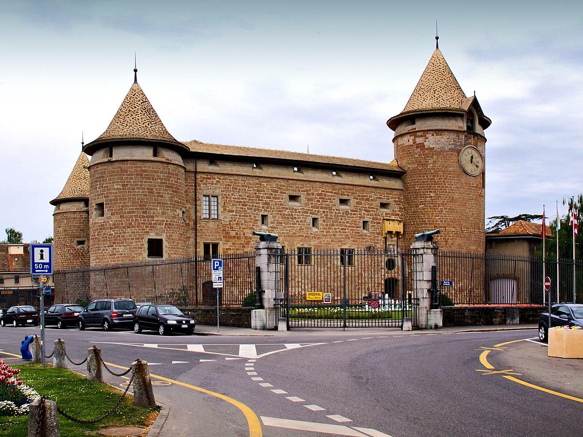 Morges Castle  Wikipedia