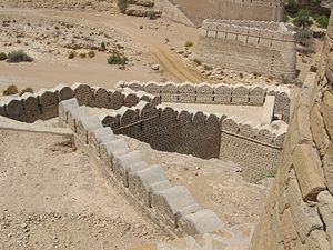 """Picture of Ranikot Fort in Sindh, Pakist..."