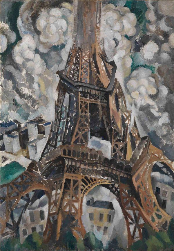 Robert Delaunay Eiffel Tower