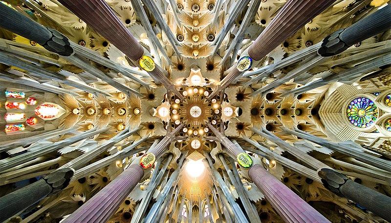 File:Sagrada Familia nave roof detail.jpg