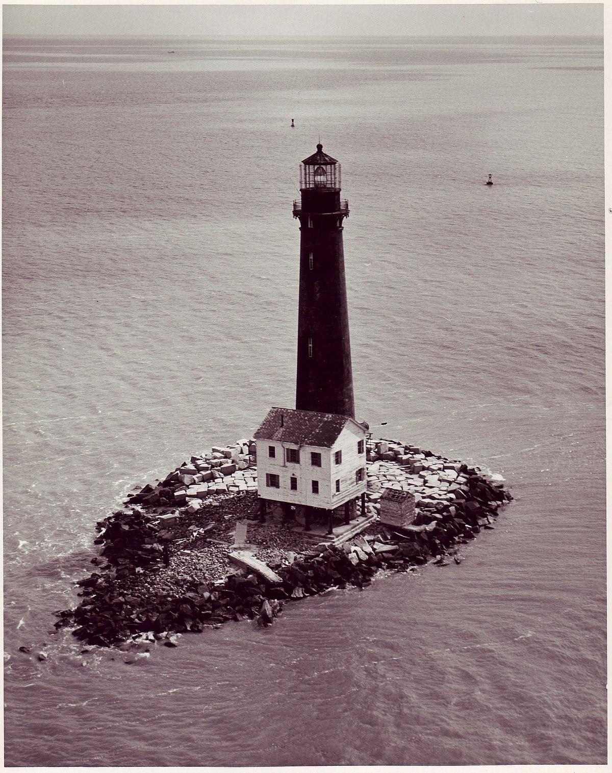 Sand Island Light Alabama  Wikipedia