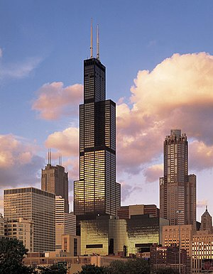 Sears Tower, completed in 1973, introduced the...