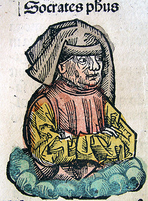 Socrates in Nuremberg Chronicle LXXIIv