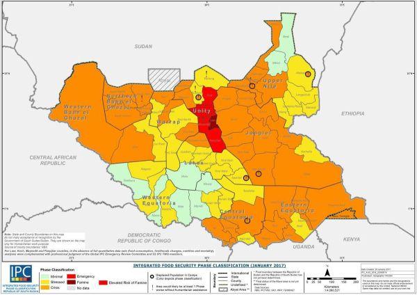 2017 South Sudan famine Wikipedia