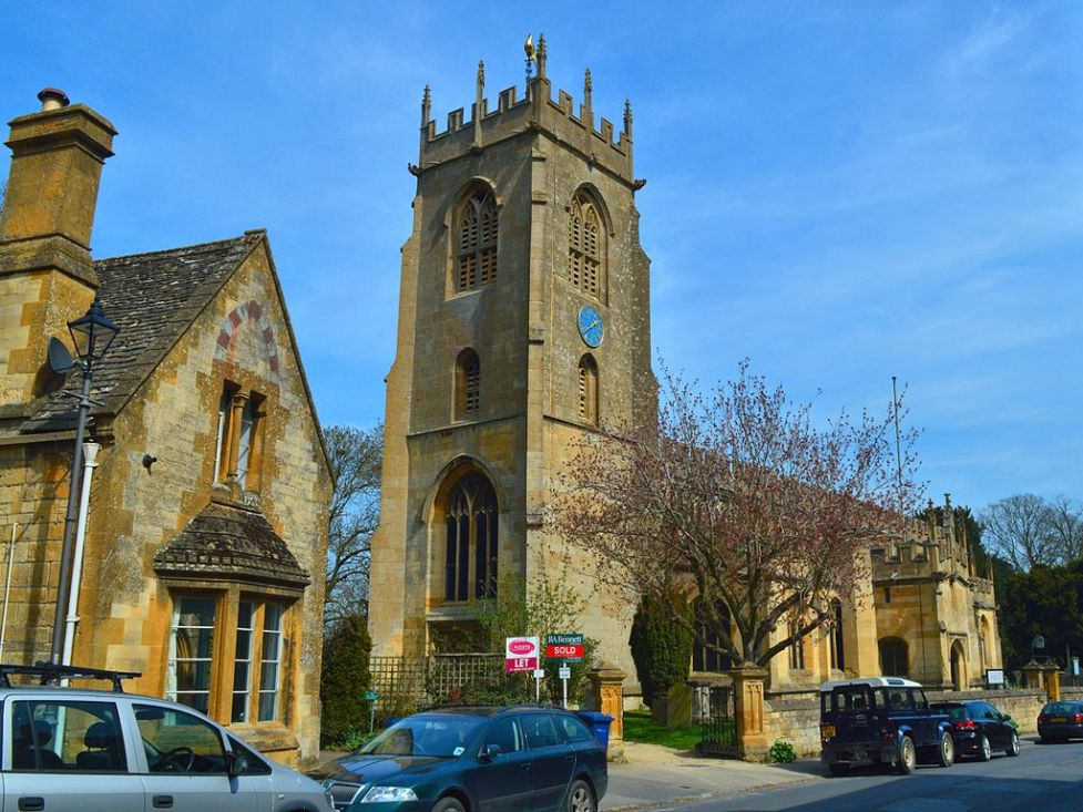 Photo of St Peter's parish church, Winchcombe, Gloucestershire