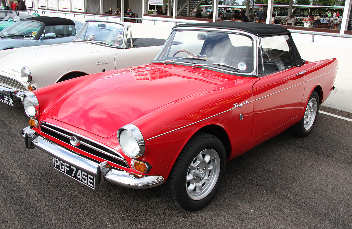 1100 Ford Tractor Wiring Diagram Sunbeam Tiger Wikipedia