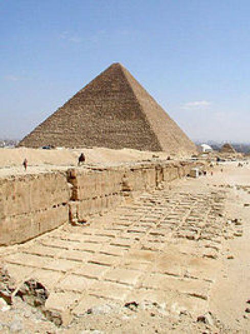 Resultado de imagen para la gran piramide de guiza