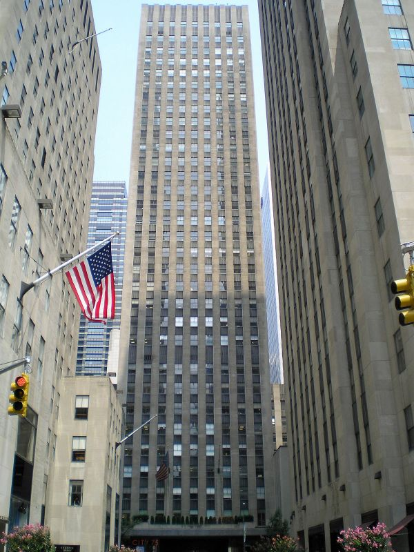 75 Rockefeller Plaza New York