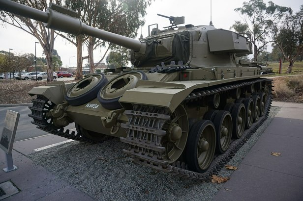 Australian War Memorial - Joy of Museums - Centurion Tank
