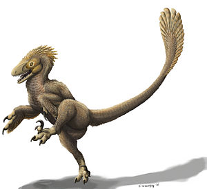 English: Balaur bondoc, the new dromaeosaurid ...