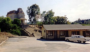 English: Bates Motel Set at Universal Studio H...