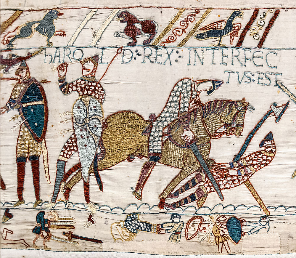 Teppich Von Bayeux Reading Bayeux Tapestry Eanswers