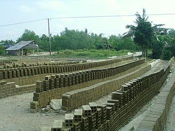 Brick factory - Mekong Delta, Vietnam.