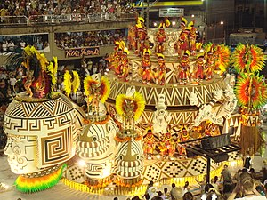 Carnival in Rio de Janeiro. Deutsch: Karneval ...