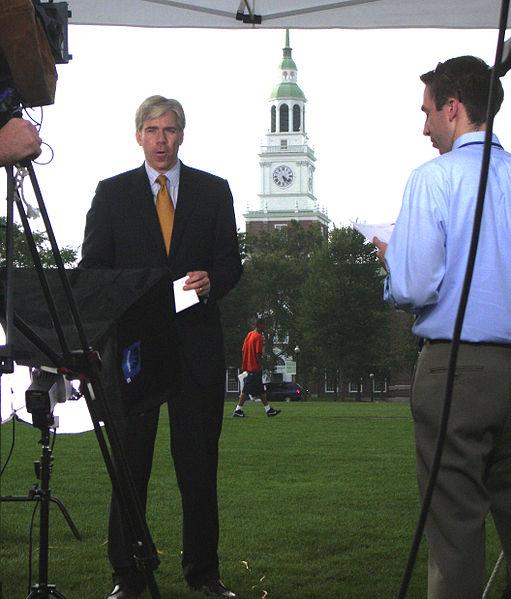 Dartmouth College campus - Democratic Presidential Candidates Debate 45 - David Gregory.jpg