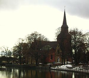 Picture of Fors kyrka in Eskilstuna