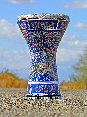 Goblet drum, photo taken by Kevin Hartnell on ...