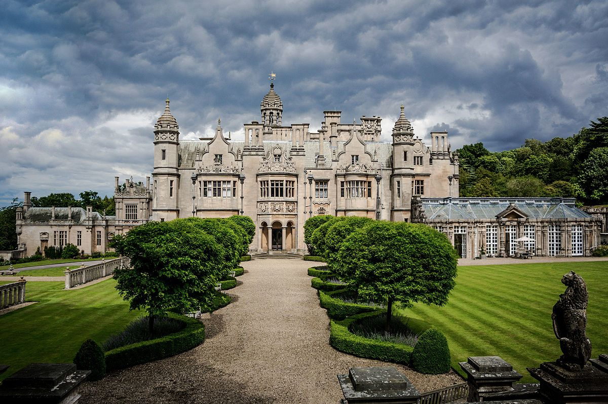 Harlaxton Manor  Wikipedia