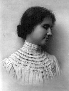 """Helen Keller My""""Optimism Symbol"""""""