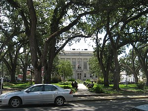 Terrebonne Parish Courthouses, Main Street, Ho...