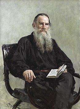 Толстојев портрет из 1887. који је насликао Иља Репин