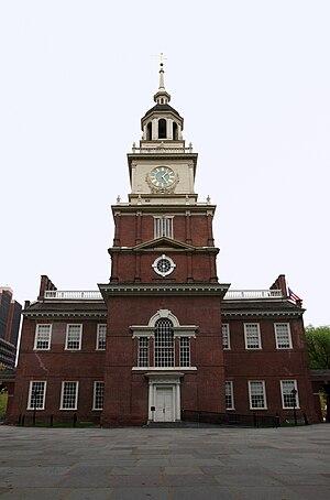 Independence Hall in Philadelphia, Pennsylvani...