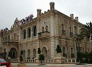 The Jacir Palace in Bethlehem