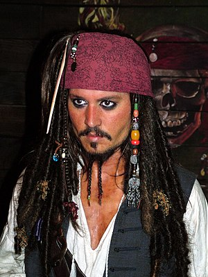 Jack Sparrow (Johnny Depp) - not really him, o...
