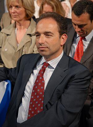 Jean-François Copé during Nicolas Sarkozy's me...