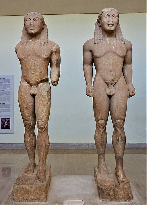 Kleobis and Biton - Delphi Archaeological Museum by Joy of Museums