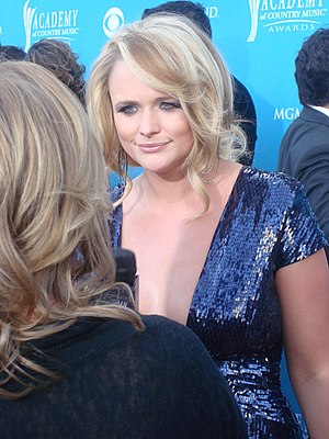 English: Miranda Lambert at the 45th Annual Ac...
