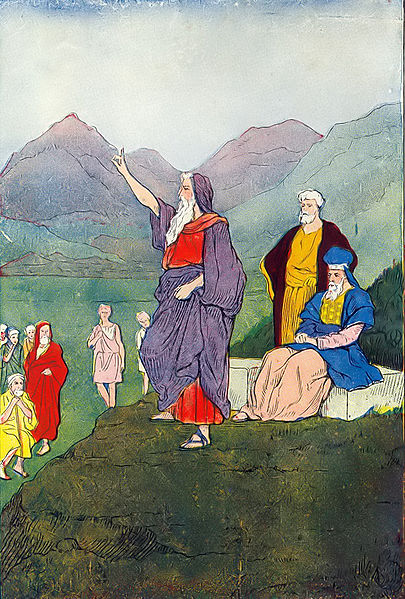 File:Moses speaks to the children of Israel.jpg