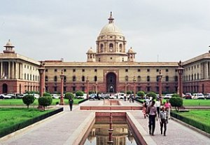 The North Block, in New Delhi, houses key gove...