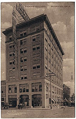 Manhattan Building Muskogee Oklahoma  Wikipedia