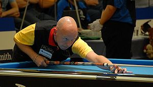 German pool player Ralf Souquet at the Europea...