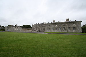 Russborough house en el condado de Wicklow