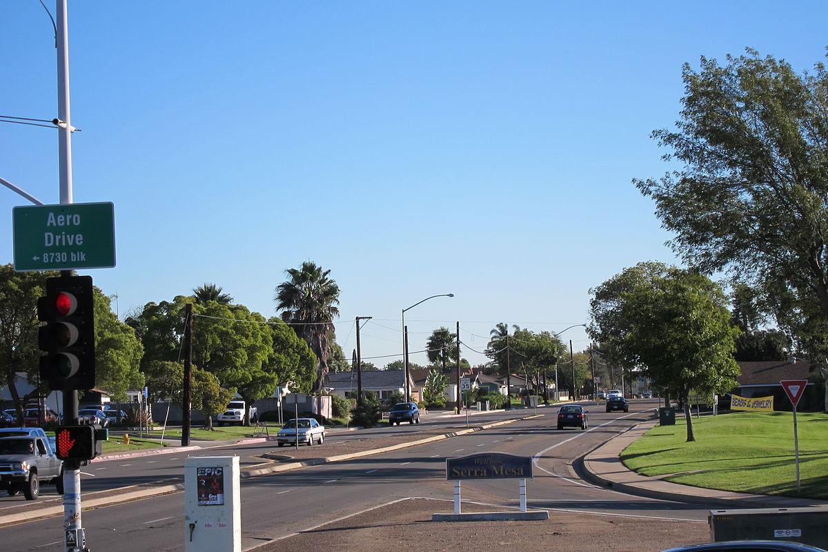 Serra Mesa San Diego  Wikipedia