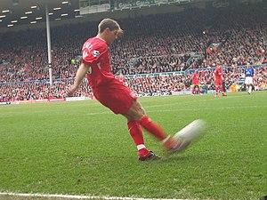 Steven Gerrard, Liverpool F.C. footballer