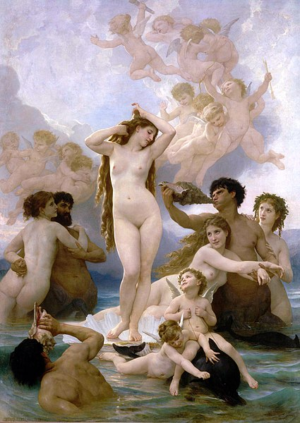 William-Adolphe Bouguereau - The Birth of Venus (1879)