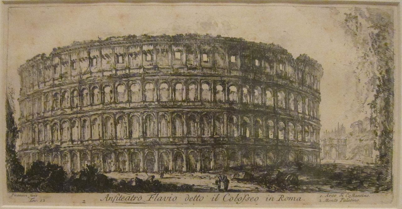 FileThe Flavian Amphitheater from Views of Rome by