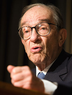 Dr. Alan Greenspan, former Chairman of the Boa...