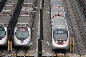 港鐵東西綫中國製列車 - 維基百科,自由的百科全書