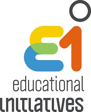 English: Logo of Educational Initiatives