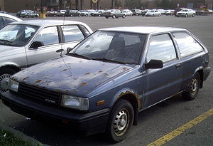 English: Hyundai Excel (X1)