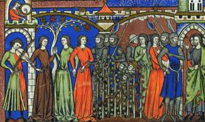 Benjamites take women of Shiloh as wives.