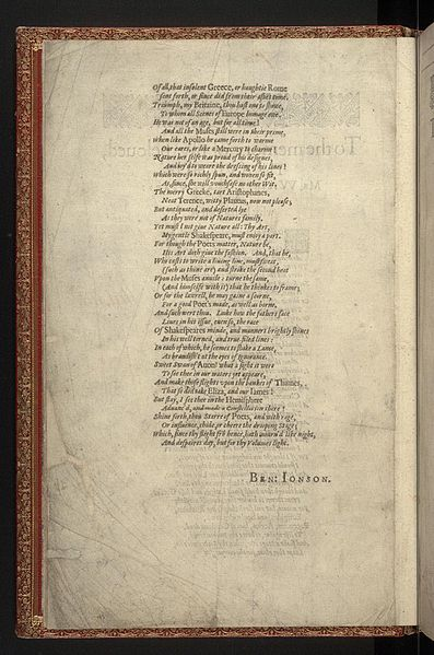 File:First Folio, Shakespeare - 0010.jpg