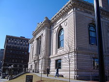 The Main Branch of the Grand Rapids Public Library