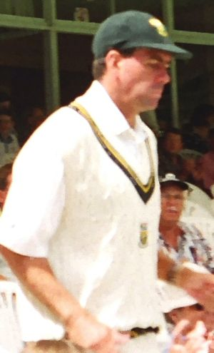South African captain Hansie Cronje