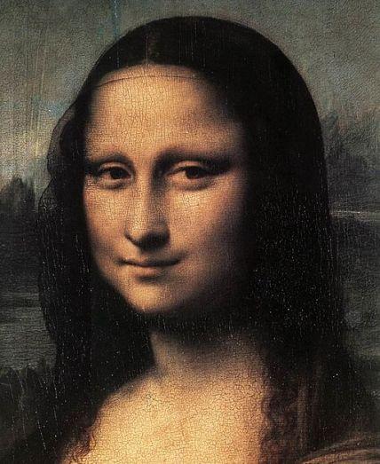 Leonardo da Vinci - Mona Lisa (detail) - WGA12713